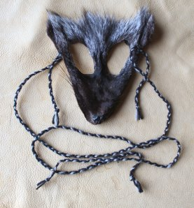 Silver fox mask by Lupa, 2012