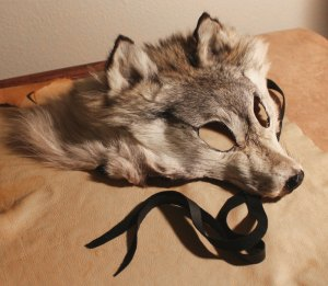 Wolf mask by Lupa, 2012.